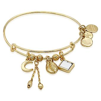 Alex And Ani Puka Shell Cluster Bangle Bracelet - A19EBPUK03SG