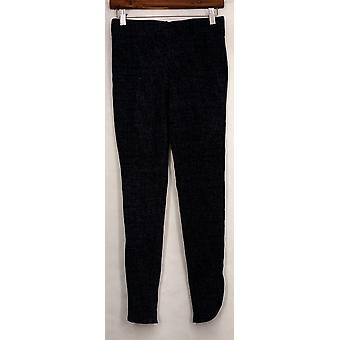 Slankende muligheder for Kate & Mallory leggings Tulip Hemline zip blå A430703
