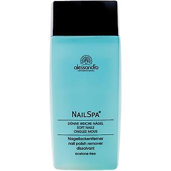 Alessandro Nail Spa-nagellak remover (lavendel geurende) 135ml
