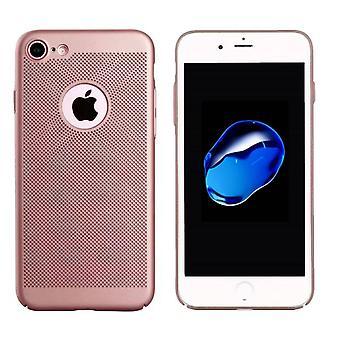 iPhone 6 Plus و 6S Plus Case Ros 'الذهب - ثقوب شبكية