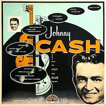 Johnny Cash - With His Hot and Blue Guitar [CD] USA import
