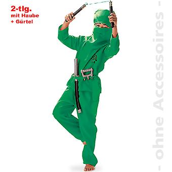 Ninja kostume barn karate fighter Ninjakostüm barn kostume