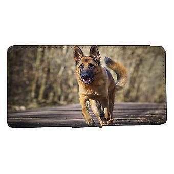 iPhone 6/6s Wallet Case Schäfer hond voorjaar shell geval