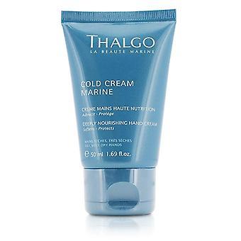 Thalgo Cold Cream Marine Deeply Nourishing Hand Cream - For Dry Very Dry Hands - 50ml/1.69oz