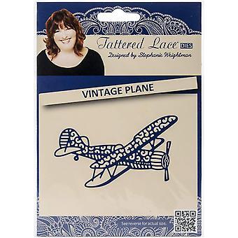 Tattered lace metal CUTTING sterven ingesteld Vintage vliegtuig vliegtuig vliegtuig D692