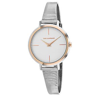 Ted Lapidus Women's Classic Silver Dial Watch - A0712YBIX