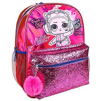 LOL Surprise, Backpack-red (40 cm)