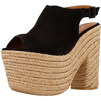 Yellow Espadrilles Excited Color Black