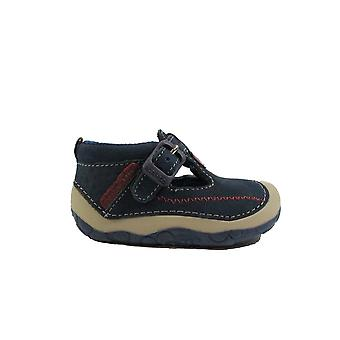 Startrite Tiny Nubuck Leather Boys Pre Walker Shoes