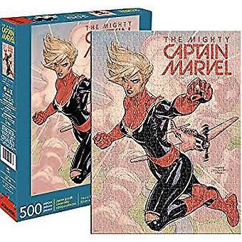 Puzzle - Marvel - Captain Marvel Cover 500pc New Licensed 62160