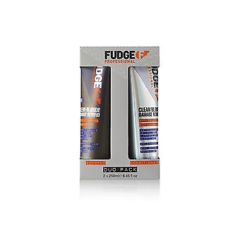 Fudge Clean Blonde Danos Rewind Violet Toning Set
