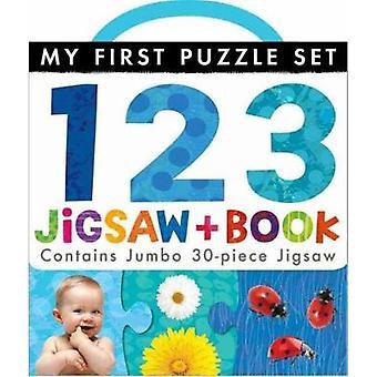 My First Puzzle Set 123 Jigsaw and Book par Little Tiger Press