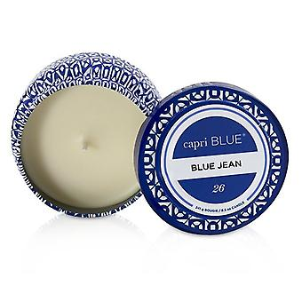 Capri Blue Printed Travel Tin Candle - Blue Jean 241g/8.5oz
