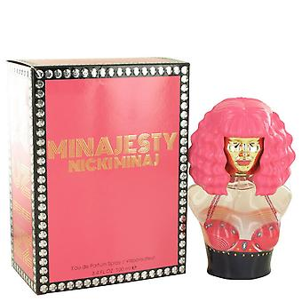 Minajesty eau de parfum spray by nicki minaj   501936 100 ml