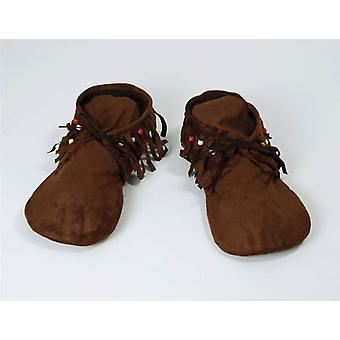 Hippy/Indian Moccasins. Men's.