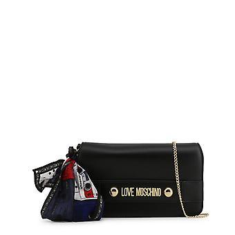 الحب موسكينو المرأة & أبوس ق حقيبة مخلب - jc4226pp08kd، أسود