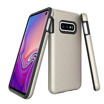 Für Samsung Galaxy S10e Fall, Rüstung Gold schützende langlebige schlanke Telefonabdeckung