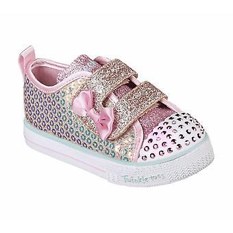 Skechers Women's D'Lites Polka Nite Sneakers