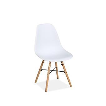 PAIR OF HEX CHAIRS WHITE