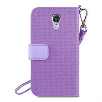 Belkin Sartorial Wristlet Cover Case for Galaxy S4 Purple