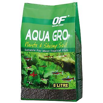 Ocean Free Aqua Gro Sustrato Fúrtil 8L (Balık , Dekorasyon, Çakıl ve kum)