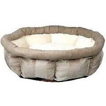 Trixie Leona Bed, Ø 45 cm, Brown-Cream (Dogs , Bedding , Beds)