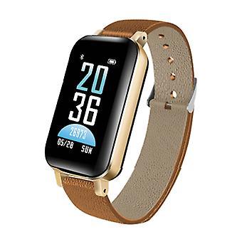 Lemfo T89 Smartwatch Activity Tracker + TWS Wireless Earphones Wireless Earpieces Fitness Sport iOS Android Black - Copy