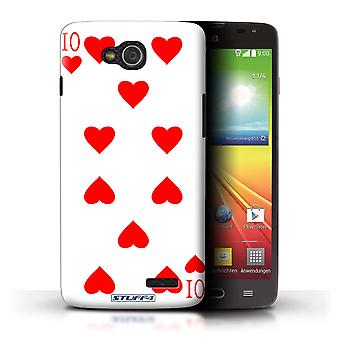 STUFF4 Case/Cover for LG L90 Dual/D410/10 of Hearts/Playing Cards