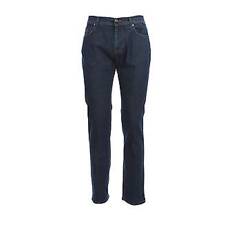 Corneliani 854jk20120159005 Men's Blue Cotton Jeans