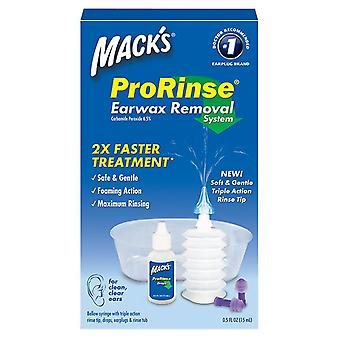 Mack's prorinse, earwax removal system, 0.5 oz