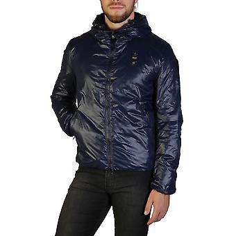 Blauer Original Men Fall/Winter Jacket - Blue Color 35647