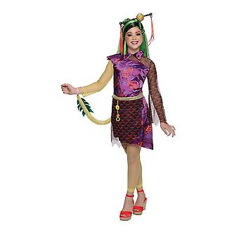 Monster High Childrens/Kids Jinafire Long Costume