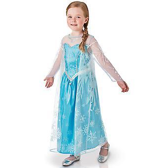 Déguisement luxe Elsa La Reine des Neiges enfant