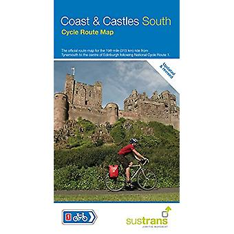 Coast & Castles South Cycle Route Map - The official route map for