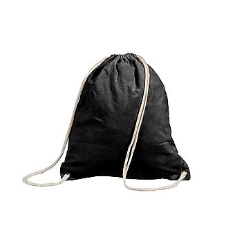 Shugon Stafford Cotton Drawstring Tote Backpack Bag - 13 Litres