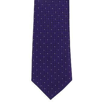 Michelsons Lontoon Korosta Micro Spot laiha Polyesteri tie-violetti