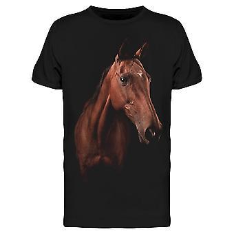 Hest Bilde W / Slått Hodet Tee Menn & apos; s -Bilde av Shutterstock Menn & apos; s T-skjorte