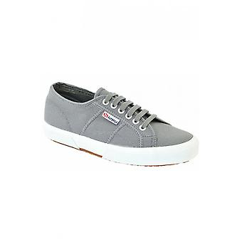 Superga 2750 Grey Canvas Trainers