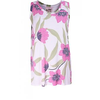 A Postcard from Brighton Felina Sleeveless Floral Top