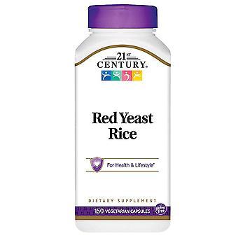 21st century red yeast rice, veggie capsules, 150 ea