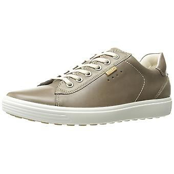 ECCO Womens Soft 7 Leather Low Top Lace Up Fashion Sneakers