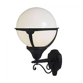 Orb Lanterns Wall Light, Aluminum And Ppma