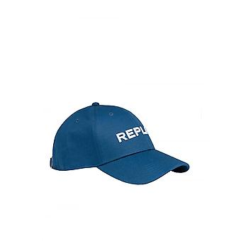 Replay Jeans Replay Baseball Cap Blauw