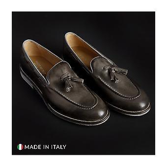 SB 3012 - Shoes - Moccasins - 1001-CRUST-GRIGIO - Men - darkgray - EU 41