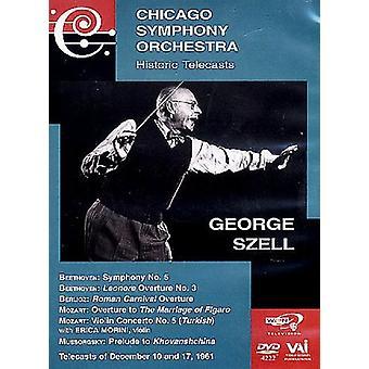 George Szell - Plays Mussorgsky/Beethoven/Berlioz/Mozart/& [DVD] USA import