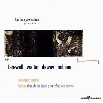 Mark Masters - Farewell Walter Dewey Redman [CD] USA import