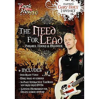 Gary Hoey - Need for Lead Phrases Hooks & Melodies [DVD] USA import