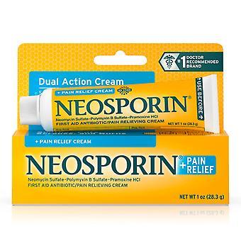 Neosporin + smertelindring max styrke creme, 1 ounce *