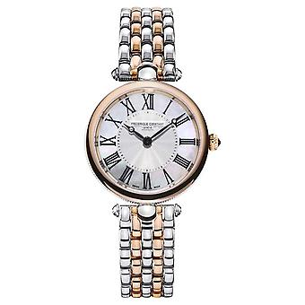Frederique Constant Women's Art Déco | Two-Tone Steel Bracelet |Mother Of Pearl FC-200MPW2AR2B Watch