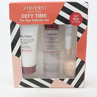Shiseido להתנגד זמן 4-Pcs הגנה גיל סט / חדש עם תיבה